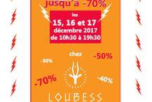 Ventes FLASH du 15 au 17 Decembre jusqu'à -70% / Ce weekend dans la boutique au 10 rue Beauvau 13001 Marseille, jusqu'à -70% de réduction sur vos achats ! Pour vos cadeaux de fin d'année profitez en pour offrir des cadeaux originaux et éthiques. Pour le Weekend du 15 au 17 décembre. Ouverture tout le weekend de 10h30 à 19h30! UNIQUEMENT CE WEEKEND !