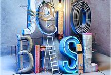letters 3d