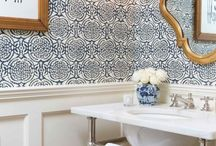 Home {Powder Rooms}