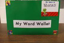 Teaching: sight words