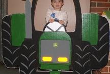 Björn's 2nd Birthday- Tractors