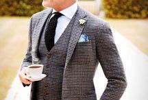 Tweed's and Check's / Book yourself an appointment today to be sartorially inspired!