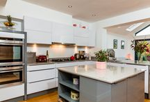 Kitchen trends / It is always nice to see trendy images of kitchens. With this board we will showcase trends that we have used in recently installed kitchens