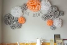 Baby shower ideas / Because it needs its own board!