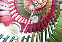 Colour Palette: {Pink & Green)