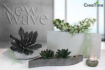 New Wave / Mit New Wave by CreaTina stellen wir Ihnen die erste Serie vor, in der wir für Sie Deko´s zusammengestellt haben. Sorgfältig ausgesuchte einzelne Dekoelemente perfekt aufeinander abgestimmt.. http://creatina-dekoshop.de/Themenwelten/New-Wave/