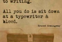 On writing / by Diana
