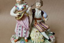 Potschappel Carl Thieme Porcelain figurines