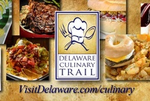 Delaware Culinary Trail  / The Delaware Culinary trail highlights twenty-four Delaware restaurants – eight in each region of the state. We're sure you'll find the Delaware dining selections to be enticing, exquisite and enjoyable! For more information, go to http://www.visitdelaware.com/culinary.  / by Visit Delaware