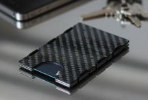 slimTECH Carbon Fiber Wallet / Minimalist RFID blocking wallet / card case with an optional money clip. Check it out on slimtechgear.com