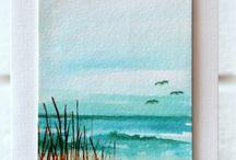 Akvarellmålning / Inspiration att måla.