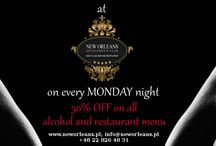 SPECIAL OFFERS at New Orleans Gentlemen's Club / Nice inside look into special offers in New Orleans Gentlemen's Club, everyone will fing something interesting