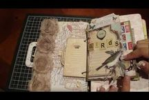 Journals/journaling/smash book/atc cards