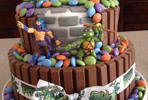 ninja turtles cakes