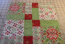 Disappearing nine patch quilts