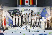 6 Horas de Silverstone, categoría LMP1 / Durante Las 6 Horas de Silverstone, los Porsche 919 Hybrid consiguen el segundo y tercer puesto.