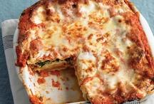 Pasta, Lasagne, italian specialities