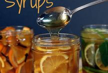 Citrus and honey flavoured cough syrups