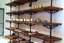 Pipe Shelving and Furniture