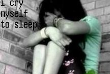 Lonely Heart / You are the reason i cry myself to sleep