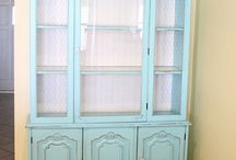 furniture make-overs / by Becky Schultz