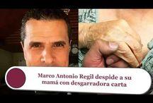 Marco Antonio Regil despide a su mamá con desgarradora carta