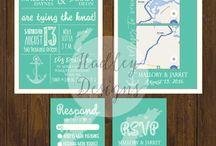 Weddings - Invitations, Announcements + Favours