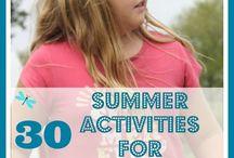 summer activities for tweens / by Deborah Johnson