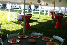 Backyard parties / Tent parties
