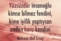 M.AKİF ERSOY