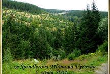 Krkonoše-moje foto / horská turistika