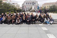 ALUMNOS DANESES VISITA ABRIL 2016 / Aunque llovió un poco, dimos un paseo por Madrid y llegamos hasta el rastro. ¡Bienvenidos nuestros alumnos daneses!