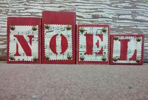 Christmas / This board includes hand crafted items for the holidays.