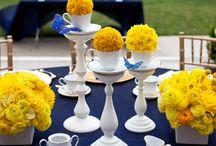 Amarillo/Yellow (Wedding decor)