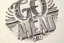 typography / opdracht voor school