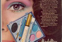 1980's hair, makeup and fashion