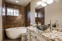 Modern Master Bath / Modern Master Bath by DFW Improved