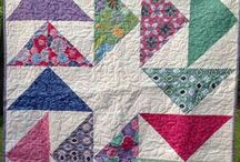 Quilts // Dreiecke // Triangles / Quilts mit Dreiecksmustern