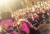 """Mago Diego e Cristina D'avena ! / Presentatore del concerto di Cristina D'avena in occasione della """"Buona notte Bianca"""" di Rho !"""