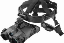 Night Vision Goggles / As useful as night vision devices such as binoculars and monoculars are, there are times when you need both hands free to operate in the dark.
