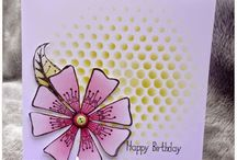My Woodware Stamps cards / On this board you will find cards i have made using Woodware stamps or products...