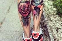 Calf Tattoos / Calf tattoos which are equally loved by men, women, girls and guys.Calf tattoos are sure to be very elegant adornments on the body... http://fabulousdesign.net/calf-tattoos/