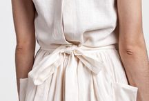 Linen clothes / Simple, minimal linen clothes