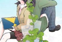 Cuple anime and manga