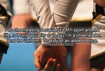 Cheerleading<3 / by Ashley Abeyta