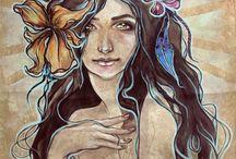 Akvarell & Akryl = ett
