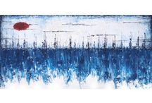 Blue collection / An array of blue art from different artists from around the world, available now at art2arts.
