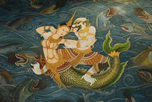 Hanuman & Supanna-Matcha