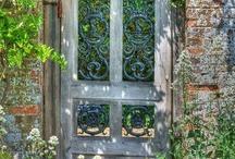 öreg ajtók kapuk