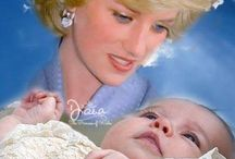 Princess Charlotte and prince George / and Prince Louis